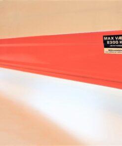 EUS reolbjælke 3300x115mm