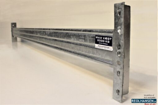 EUS varmgalvaniseret 1850x100mm