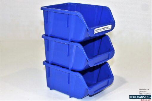 Plukkasser i plast 160x115mm