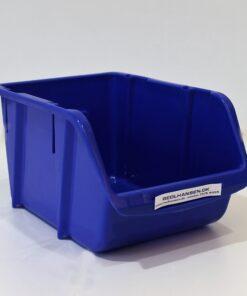 Plukkasse i blå plast 240x165mm til opbevaring
