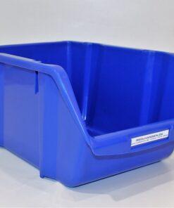 Plukkasse i blå plast 355x230mm til opbevaring