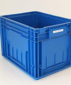 blå plastkasse 400x300x280mm