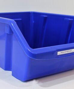 plukkasse plast blå 440x305mm til opbevaring