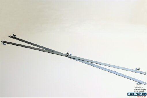 krydsafstivning til et fag Raisen grenreol 1500mm