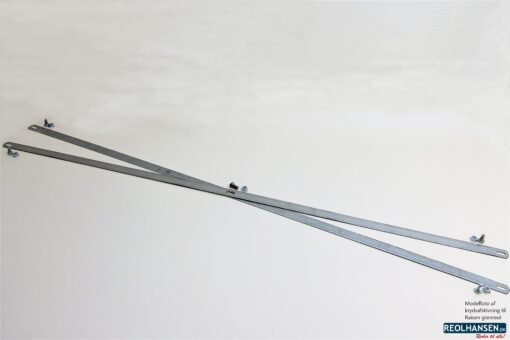 Krydsafstivning til et fag Raisen 2000mm