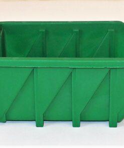 Plukkasse grøn plast