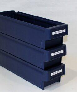 Mørk blå plastkasse 395x115x100mm_4