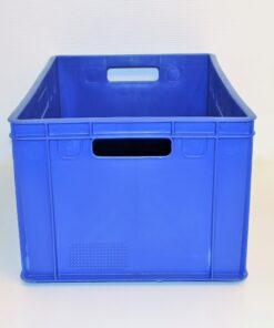Blå plastkasse 600x390x300mm_2
