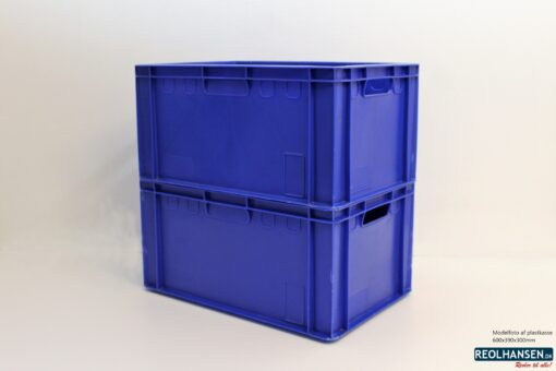 Blå plastkasse 600x390x300mm_4