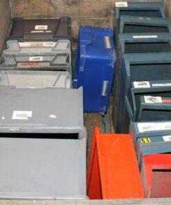 Brugte plastkasser restpartier