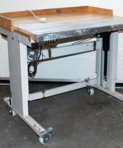 Hæve sænkebord på hjul 1000x800mm