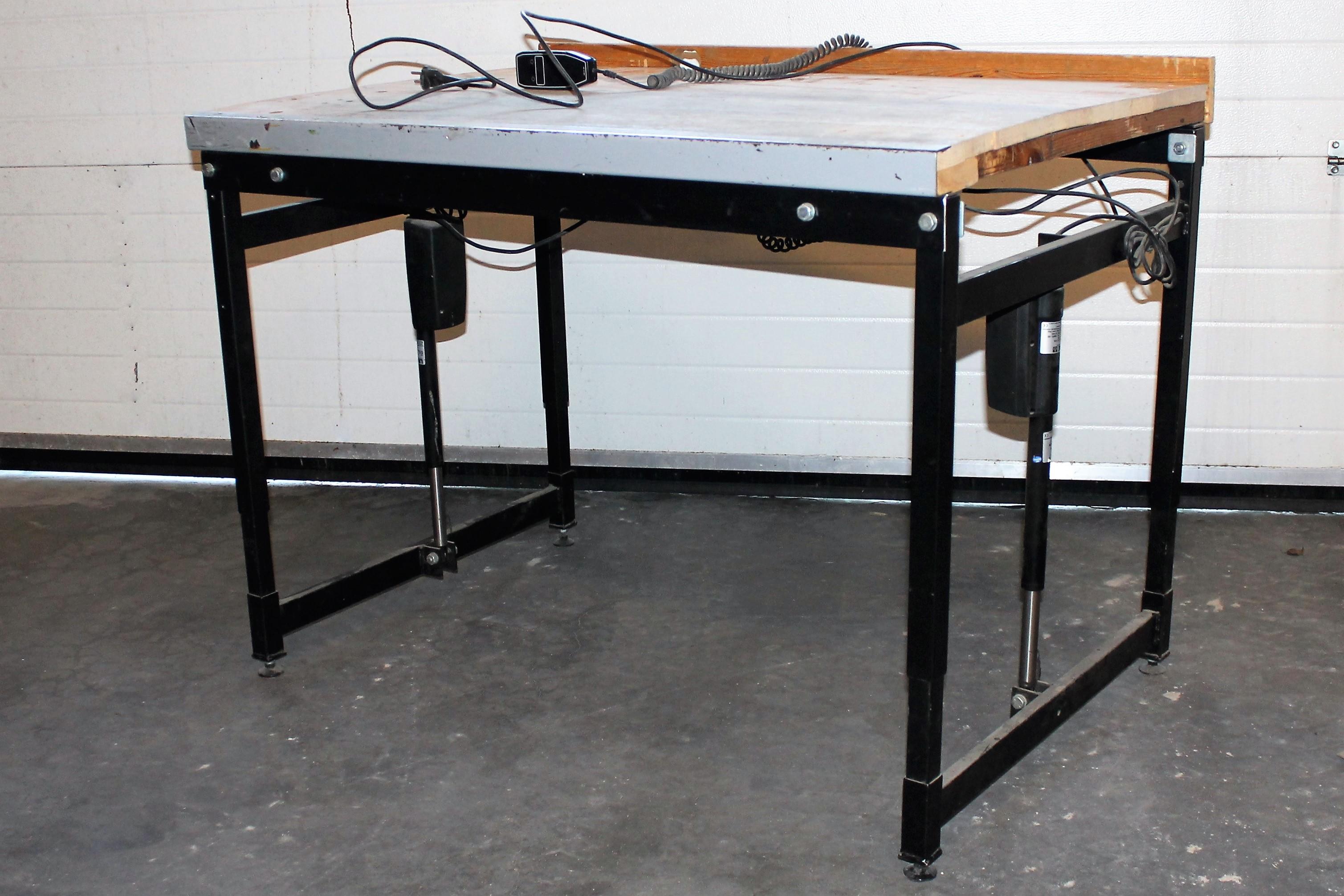 hæve sænkebord 1200x800mm
