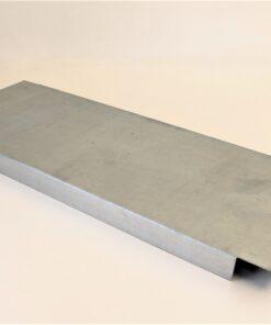 hylde 810x300mm i stål