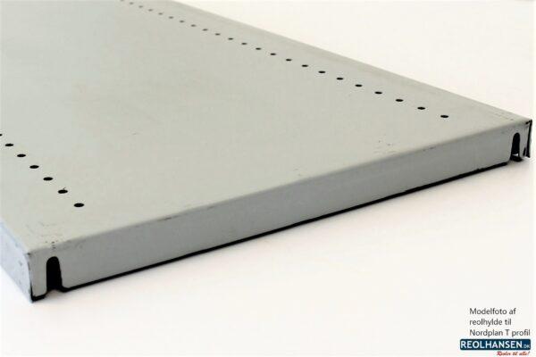 Norplan T-profil 1000x400mm reolhylde 2