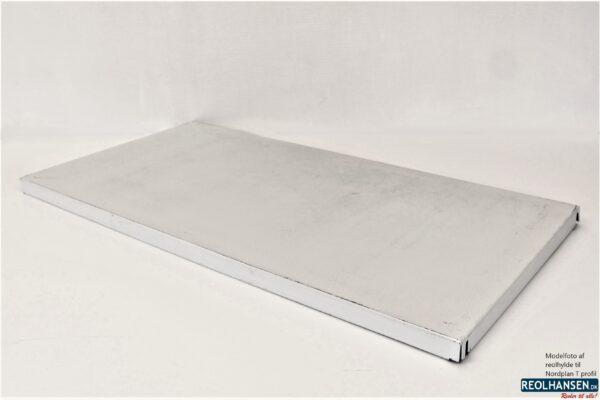 Nordplan T-profil reolhylde 1000x500mm