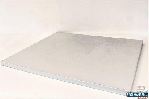 Nordplan T-profil reolhylde 1000x800mm