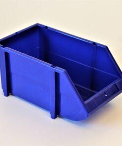 Plukkasse blå plast 150x250x120mm