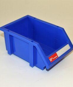 Plukkasse blå plast 120x180x80mm