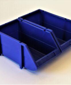 2 sammensatte blå plukkasser
