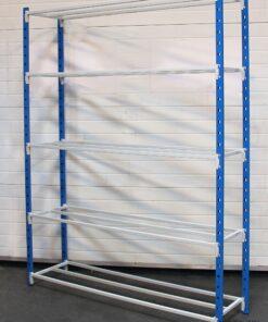 Startfag til Flip lagerreol på 2000x1500x400mm