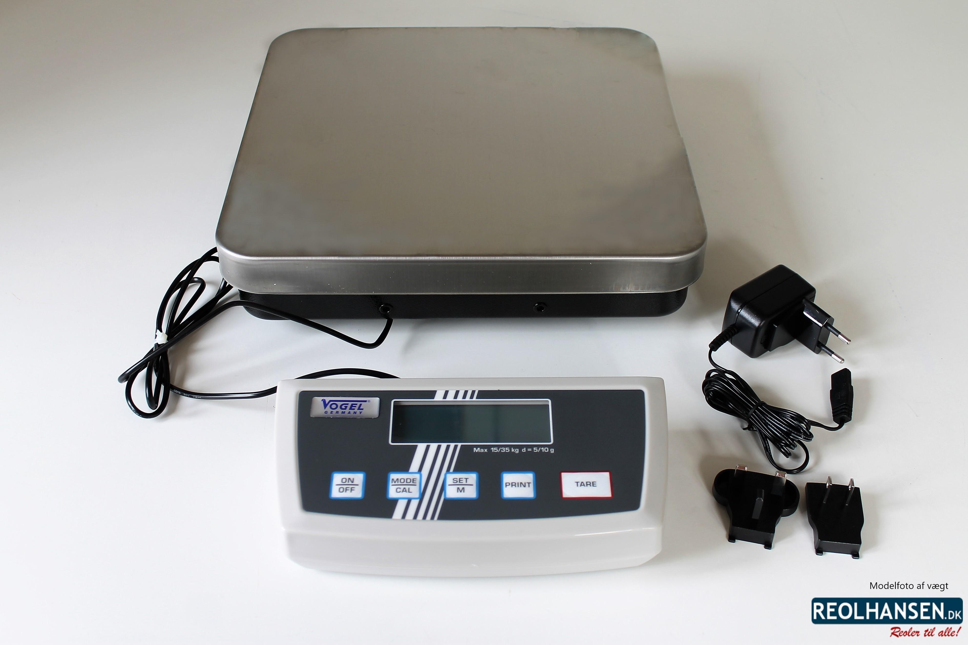 elektronisk digital pakkevægt 15/35 kg