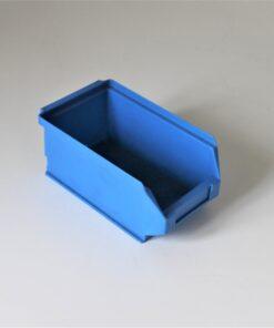 Blå plukkasse på 170x100x75mm