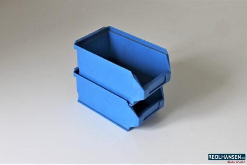 Blå plukkkasse på 170x100x75mm 3