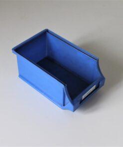 blå plukkasse på 170x105x75mm