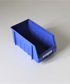 Blå plukkasse 170x95x85mm