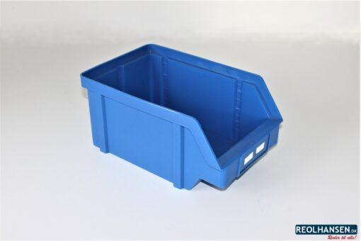 Blå plukkasse på 320x200x150mm