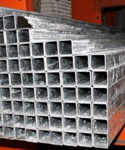 Firkantet stålrør galvaniseret