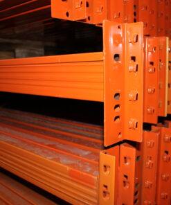 Pallereol EU - brugte reolbjælker på 2700x125mm