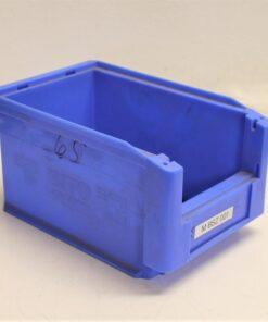 Blå plukkasse på 230x150x125 mm